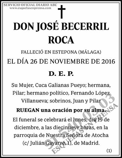 José Becerril Roca